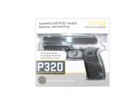 Пневматический пистолет Sig Sauer P320 BLK 4,5 мм в коробке