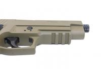 Пневматический пистолет Sig Sauer P226 FDE 4,5 мм подствольная планка