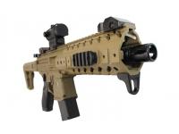 Пневматическая винтовка Sig Sauer MPX FDE-R 4,5 мм вид спереди