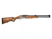 Ружье МР-94 7,62х51 и 12/76 орех, 3 чока, резиновый затыльник, сведение с домкратиком L=600
