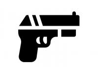 Пистолет-револьвер (1 обойма - 6 выстрелов)