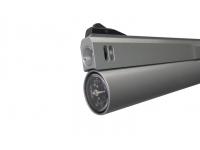 Пневматический пистолет Ataman АР16 Silver компакт дерево 4,5 мм манометр