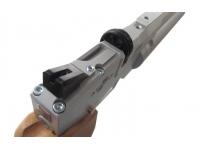Пневматический пистолет Ataman АР16 Silver компакт дерево 4,5 мм целик