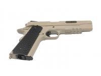 Пневматический пистолет Swiss Arms SA1911 Military Rail Pistol blowback (288507) 4,5 мм рукоять