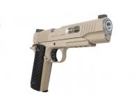 Пневматический пистолет Swiss Arms SA1911 Military Rail Pistol blowback (288507) 4,5 мм спусковой крючок