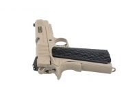 Пневматический пистолет Swiss Arms SA1911 Military Rail Pistol blowback (288507) 4,5 мм курок