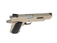 Пневматический пистолет Swiss Arms SA1911 Military Rail Pistol blowback (288507) 4,5 мм вид сверху
