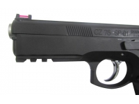 Пневматический пистолет ASG CZ SP-01 Shadow blowback 4,5 мм планка