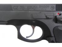 Пневматический пистолет ASG CZ SP-01 Shadow blowback 4,5 мм спусковой крючок