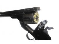 Пневматический револьвер ASG Schofield-6 steel grey 4,5 мм