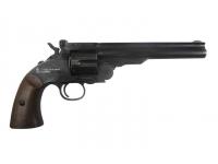пневматический револьвер ASG Schofield-6 aging black вид справа