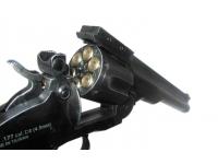 барабан пневматического револьвера ASG Schofield-6 aging black вид справа