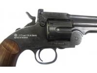 курок и спусковой крючок пневматического револьвера ASG Schofield-6 aging black