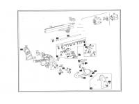 взрыв-схема пневматического револьвера ASG Schofield-6 aging black
