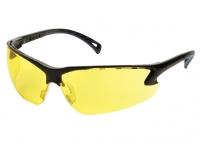 Очки стрелковые защитные ASG (регулируемые дужки, желтые линзы)(17005)
