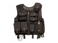 Тактический жилет ASG SWAT черный (11073)