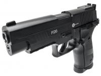 пневматический пистолет Gunter P26 вид слева