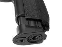 извлечение магазина пневматического пистолета Gunter P2022