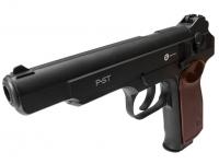 пневматический пистолет Gunter P-ST вид слева