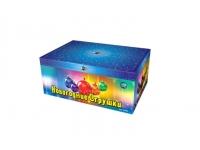 Батарея салютов Новогодние игрушки