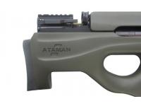 Пневматическая винтовка Ataman M2R Булл-пап 5,5 мм (Зелёный)(магазин в комплекте)(435/RB-SL) приклад