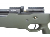 Пневматическая винтовка Ataman M2R Тип III Карабин Тактик SL 5,5 мм (Зелёный)(магазин в комплекте)(535/LB-SL) магазин