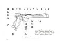 взрыв схема к пневматическому пистолету МР-657К №1