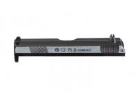 Верхняя крышка ASG CZ 75D серебристая, металл (16557)