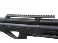 Пневматическая винтовка EDgun Матадор Р3М стандарт 6,35 мм (черный, Soft-touch) планка