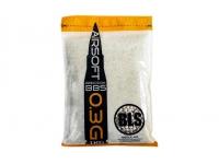 Шарики пластиковые 6 мм BLS 0,3 гр белые (1 кг)