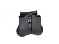 Чехол ASG под запасные магазины пистолета CZ P-09 (полимер, черный)(18469)