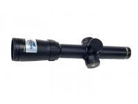 Оптический прицел Bushnell ELITE 6500 1-6,5x24M, 30 мм., сетка 4A, c подсветкой, красн., клик=0,1MIL, RainGuard HD, черный