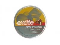 Пули пневматические H&N Excite Coppa-Spitzkugel 4,5 мм 0,49 грамма (500 шт.)