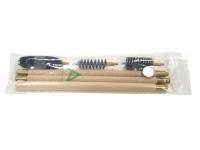 Набор для чистки гладкоствольного оружия 16 кал. (шомпол деревянный, полиэт.пакет)