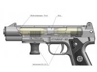 схема к пневматическому пистолету Атаман-М2 №3