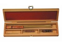 Набор для чистки в деревянной коробке кал.7 мм