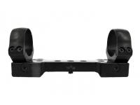 Планка EAW Picatinny быстросъемная (регул.рычаги, кольца 30 мм. сменн. расстояние, высота 15 мм., ширина 15 мм)