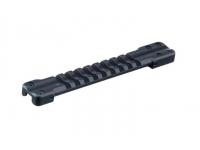 Основание Weaver для установки на вентилируемую планку гладкоствольных ружей (ширина 9,0-10,1мм)