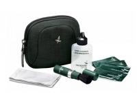 Набор для чистки оптики Swarovski CS в футляре (салфетки влажн., щеточка, чистящ. жидкость, микрофибра)