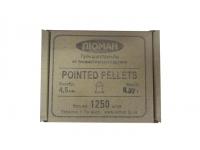 Пули пневматические Люман Pointed pellets 0,57 г 4,5 мм (1250 шт.)