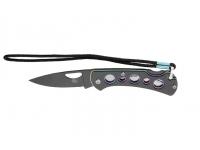 Нож Sanrenmu серии EDC, лезвие 67мм (цвет - черный/спектр)