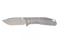 Нож SanRenMu лезвие 68 мм (цвет-серый)