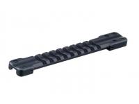 Основание Weaver для установки на вентилируемую планку гладкоствольных ружей (ширина 6-7,1мм)
