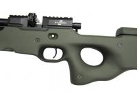 Пневматическая винтовка Ataman M2R Тип II Тактик 9 мм (Зелёный)(магазин в комплекте)(H339/RB) рукоять
