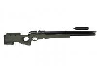 Пневматическая винтовка Ataman M2R Тип II Тактик 9 мм (Зелёный)(магазин в комплекте)(H339/RB) вид справа