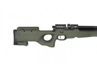 Пневматическая винтовка Ataman M2R Тип II Тактик 9 мм (Зелёный)(магазин в комплекте)(H339/RB) приклад