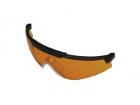Линзы для очков стрелковых Sporty, оранжевые