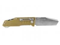 Нож SanRenMu, лезвие 86 мм (цвет -  бежевый)