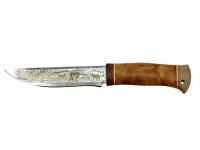 Нож НС-72 позолота Златоуст