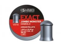 Пули пневматические JSB Exact Jumbo Monster 5,52 мм 1,645 гр (200 шт.)